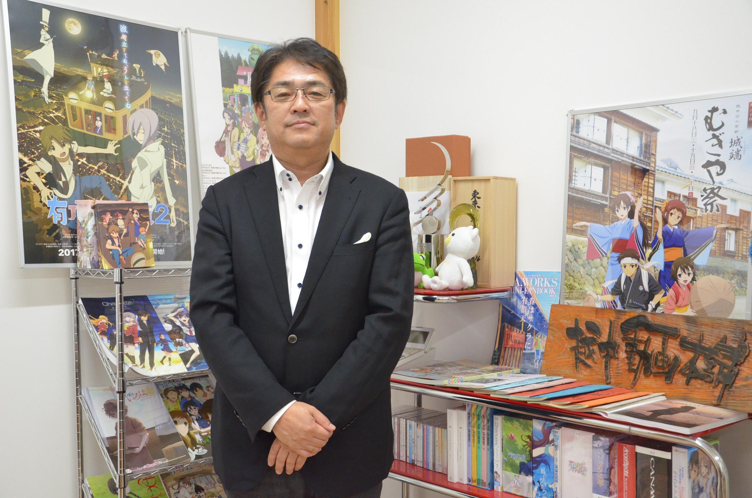 P.A. WORKS専務取締役・一般社団法人PARUS 代表理事 菊池宣広さん